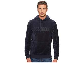 DC Maytown Velvet Fleece Pullover Hoodie Men's Sweatshirt