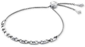 Michael Kors Women's Mercer Link Sterling Silver Slider Bracelet