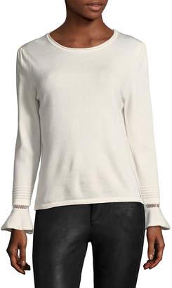 Few Moda Ruffle Flare Sleeve Sweater