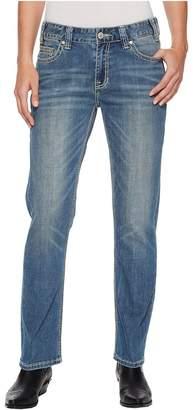Rock and Roll Cowgirl Boyfriend in Light Vintage W2-5095 Women's Jeans