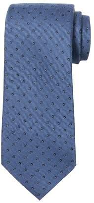 Banana Republic Floral Foulard Silk-Wool Nanotex® Tie