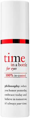 philosophy Time In A Bottle For Eyes 100% In-Control