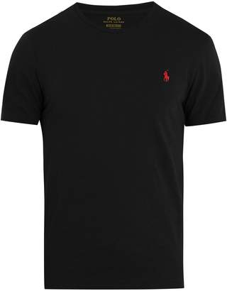 Polo Ralph Lauren Logo-embroidered cotton-jersey T-shirt