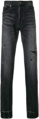 Saint Laurent distressed jeans