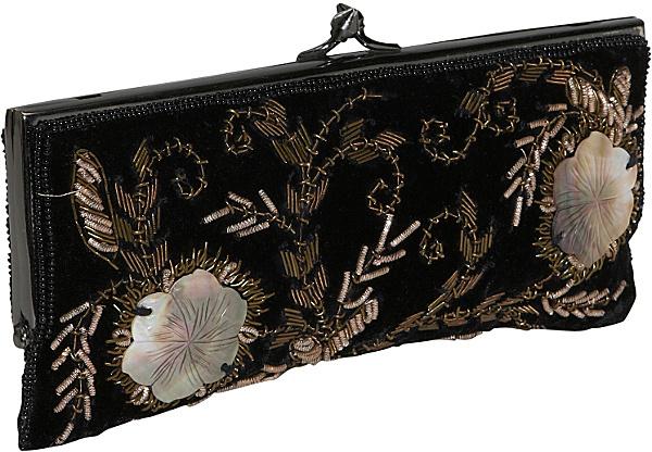 Moyna Handbags Beaded Evening Clutch