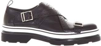Christian Dior Calf Leather Monk-strap Shoes