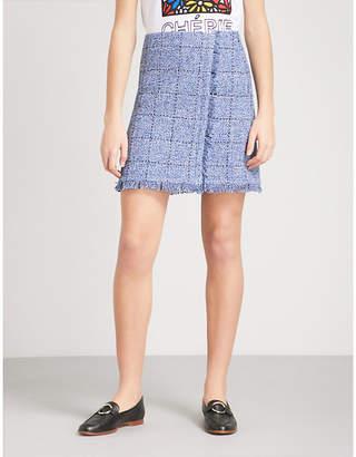 Claudie Pierlot Selma tweed skirt