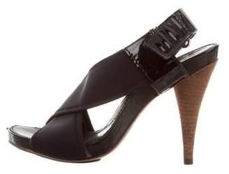 Theory Neoprene Slingback Sandals