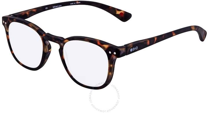 B+D Dot Reader Matt Tortoise Eyeglasses