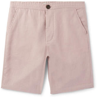 Oliver Spencer Linen Drawstring Shorts