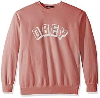 Obey Men's New World Sweatshirt Crew Neck