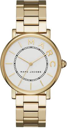 Marc Jacobs Women's Roxy Gold-Tone Stainless Steel Bracelet Watch 36mm