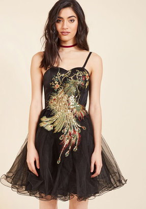 Perfect Poise Tulle Dress in Peacock in 22 $89.99 thestylecure.com