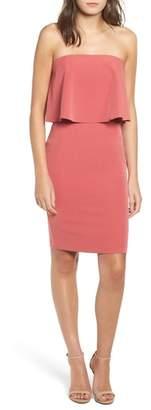 Socialite Popover Strapless Dress