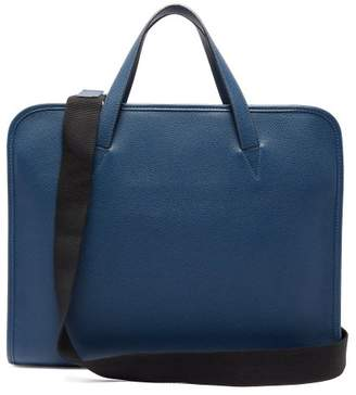 Connolly - Document 1985 Leather Briefcase - Mens - Blue