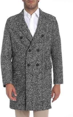 T Jacket T-jacket Double Breasted Coat