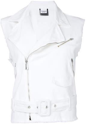 Pinko sleeveless denim jacket