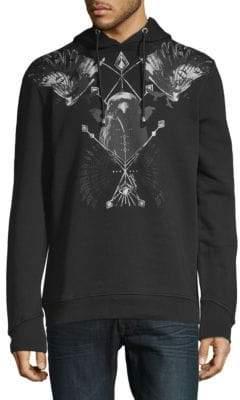 Just Cavalli Graphic Cotton Sweater