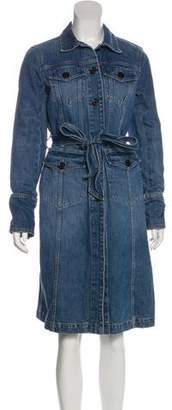Marc Jacobs Denim Knee-Length Dress
