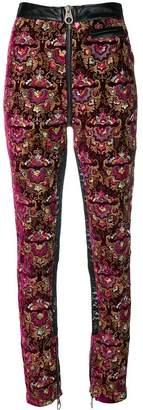 Almaz embroidered skinny trousers