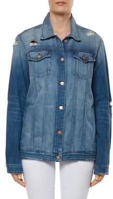 J Brand Cyra Oversize Denim Jacket
