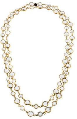 Chanel Crystal Sautoir Long Necklace