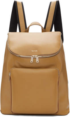 Paul Smith Tan Bucket Backpack
