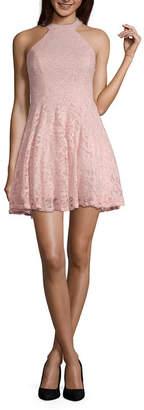 d2efa8d7eeecb8 B. Darlin Bee Darlin Bee Smart Sleeveless Party Dress-Juniors