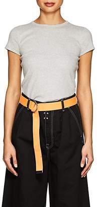 Helmut Lang Women's Rib-Knit Cotton T-Shirt