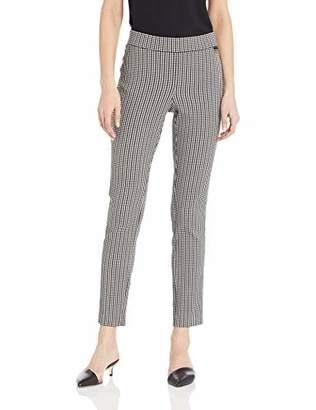 Calvin Klein Women's Slim Jacquard Pant