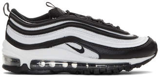 Nike Black and White Air Max 97 Sneakers