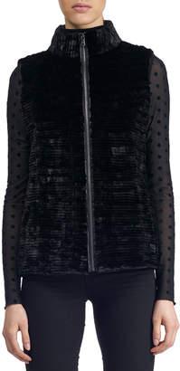 Gorski Zip-Front Fur Vest