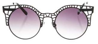 Quay Fleur Cat-Eye Sunglasses