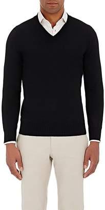 Fioroni Men's Duvet Cashmere V-Neck Sweater