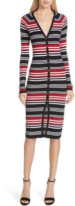 Nicholas Merino Wool Blend Knit Cardigan Dress