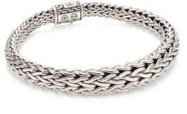 John Hardy Classic Chain Silver Graduated Bracelet