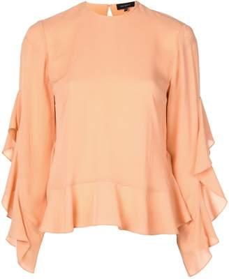 Robert Rodriguez Studio ruffle sleeved blouse