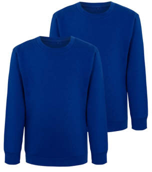 George Cobalt Blue School Sweatshirt 2 Pack
