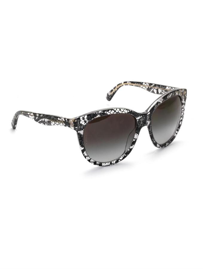 Dolce & Gabbana Lace acetate sunglasses