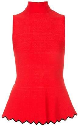 Proenza Schouler Silk Cashmere Knit Polo