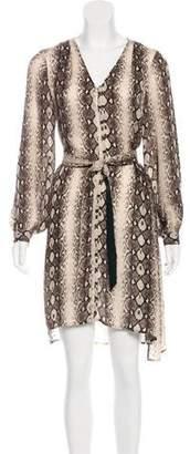 Madison Marcus Silk Printed Dress