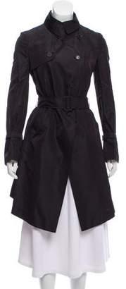 0e593fafc3e Valentino Silk Trench Coat w/ Tags