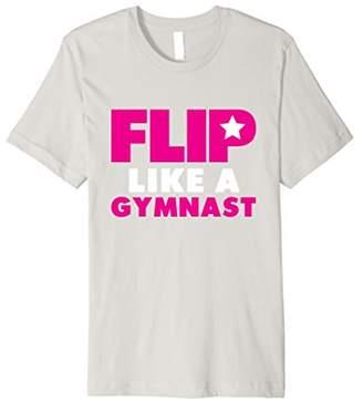 Flip Like a Gymnast Tumbling T-Shirt