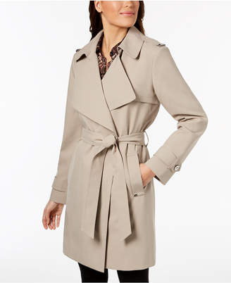 Michael Kors Belted Wrap Trench Coat