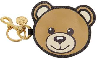 Moschino Teddy Coin Purse With Key Ring