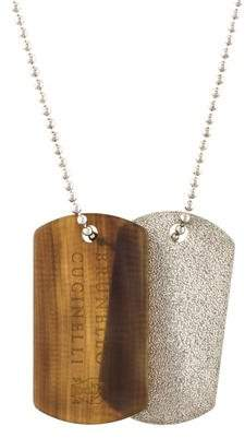 Brunello Cucinelli Double Dog Tag Pendant Necklace