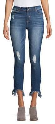 Highline Collective Destroyed Ankle Skinny Jeans