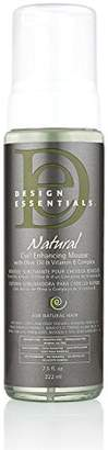 Natural curl Design Essentials Enhancing Mousse