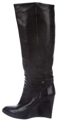 CNC Costume National Wedged Knee-High Boots