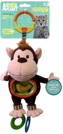Toys 'R' Us Toys R Us Animal Planet Monkey Animal Appetite Stroller Toy